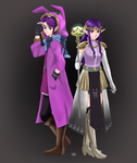 Ravio and Princess Hilda by Kylle-1007