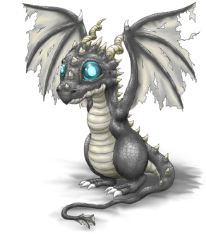 Ghost Dragon by Loroqueen