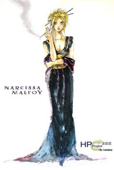 Narcissa from Harry Potter by Catalase