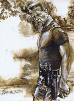 Sgt. Abraham Ford by Fusciart