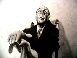 Borges by raschiabarile