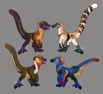 Cute Dino Adopts 2 (CLOSED) by Avian-king