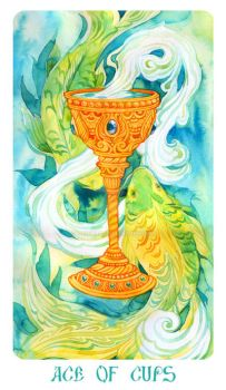 Ace Of Cups by Losenko
