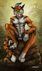 Forest Tiger by xXCougarXx
