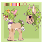 Leafy adopt- Wandering -CLOSED- by Tesspy