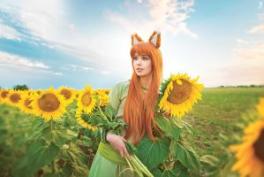 Horo (Green Dress Ver.) by Faid-Eyren