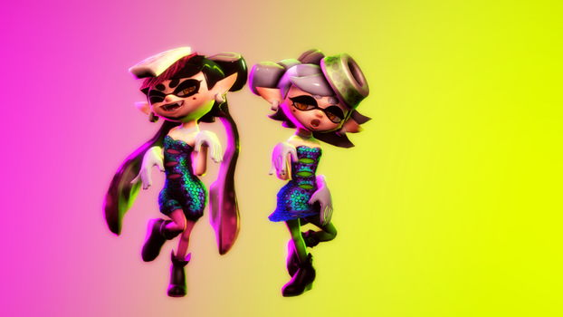 Callie And Marie Wallpaper: Explore Squid_sisters_marie On