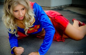 Supergirl Injured by EmeraldCoastCosplay