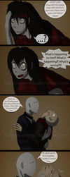 Adventures With Jeff The Killer - PAGE 160 by Sapphiresenthiss
