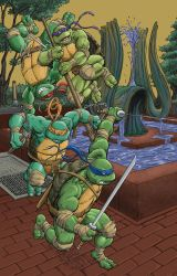TMNT 44 Cover RE by Nightlance1