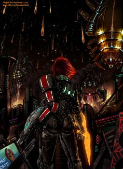 ME3 - Shepard told us they were coming... by Hedrick-CS