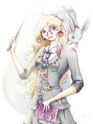 luna lovegood by lanini