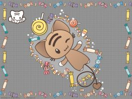 Little Candy Angel Wallpaper by lafhaha