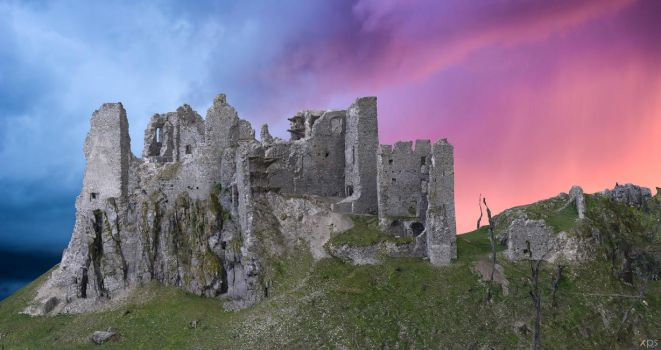 Hrusov Castle for XPS by Aequitas-Imperator