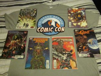 Comic Con haul! by BoltroBankai