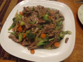 Ginger Beef and Brocolli by Ekow2286