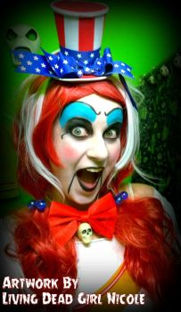 Lady Captain Spaulding Makeup and Costume by LivingDeadGirlNicole