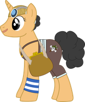 My Little One Piece - Usopp by SnowflamePony