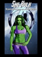 She-Hulk of the Avengers Initiative by GeekTruth64