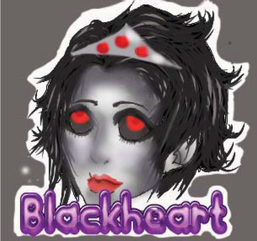 Blackheart digital Headshot by oddsockzx