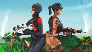 Fortnite by Roboew