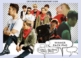 O1 | Winner (Pack PNG) by crxoked