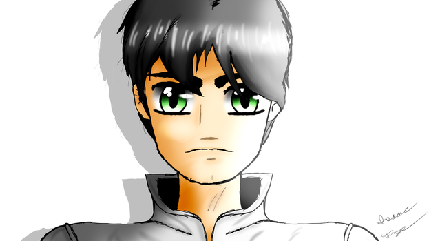 JOHNNY TOAST Young - VenturianTale Anime Drawing by HomelessGoomba