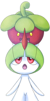 A New Friend - Bounsweet and Ralts