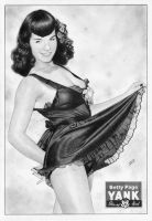 Betty Page YANK Pin-Up Girls by TimGrayson