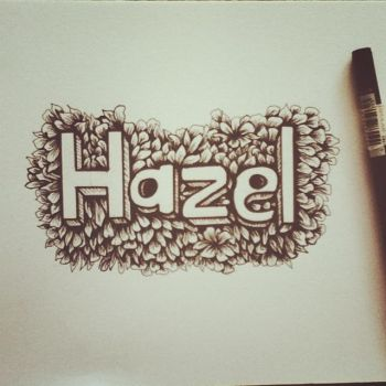 Typography by Hazelvll