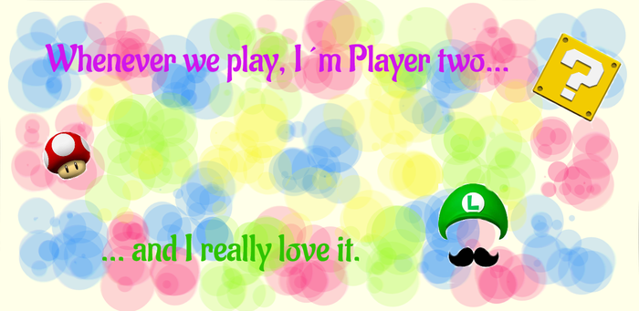 Player two, who cares? (New) by Griddle-Cake