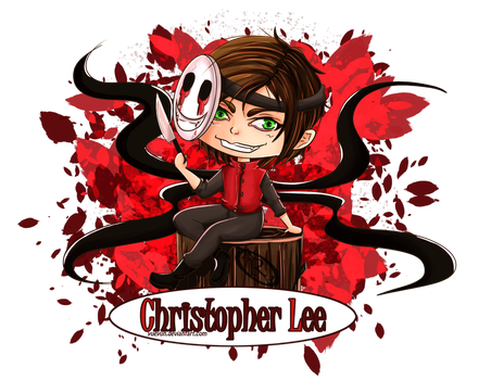 Christopher Lee by Yueyun