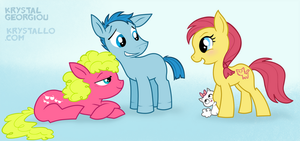 MY little ponies by nef