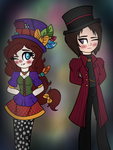 A Candyman and a Hatter by LonerGir6891