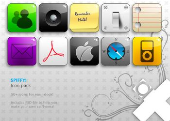 Spiffy icon pack v1.3 - Final by Balling