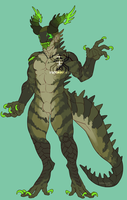 Semi-custom Toxic Croc by KurokiKumo