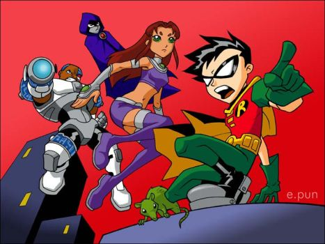 Teen Titans... Go by pungang