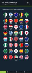 Flat Round Icon Flags by BlinVarfi