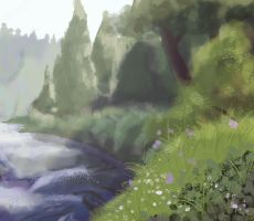 Background Practice Painting2 by Simatra