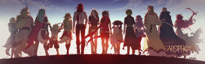 10 years of Carciphona by shilin