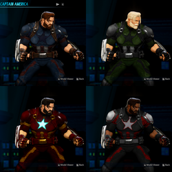 Infinity War Captain America for MVCI by Fewtch