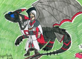 An Assassin and his Dragon by SilentDragon64
