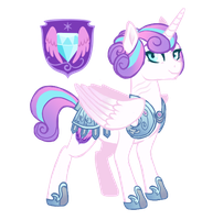 NextGen - Captain Flurry Heart by WhalePornoz