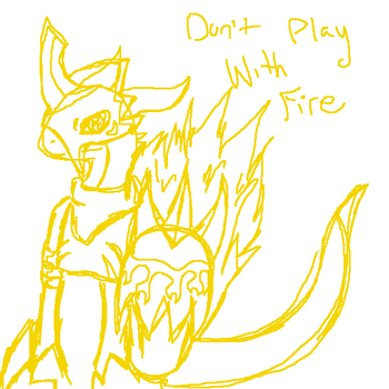 Don't Play with Fire Scrap by Tora-Kat