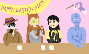 Watchmen Easter Entry by picklelova