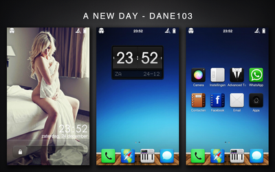 HTC Desire - A New Day by Dane103