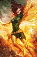 Jean Grey Phoenix - Animated Version by TimTaller