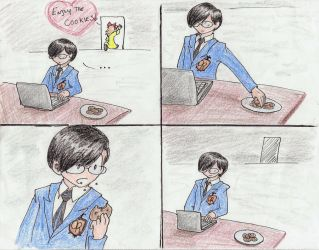 Ouran Host Club - Kyoya and Renge's cookies by Ani-Meg