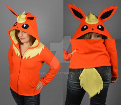 Flareon Hoodie by SewDesuNe