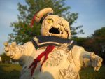 Infestation Stay Puft zombie by Derrico13